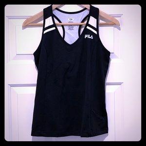 Fila Workout/Sport Top with Zipper Pocket